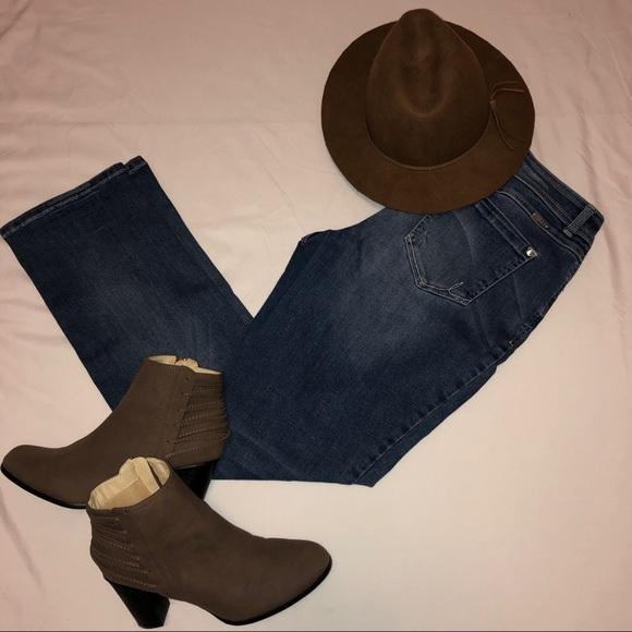 INC Denim Denim - INC Denim Jeans Straight Leg Curvy Fit Size 8